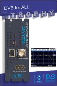 AMD-53 DVB-S2 modulator/multiplexer