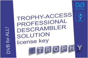 Software license to enable TROPHY-ACCESS professional descrambler solution
