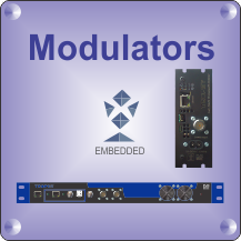 DVB Modulators/MUX