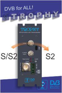 DVB-S2 to DVB-S2 transmodulator