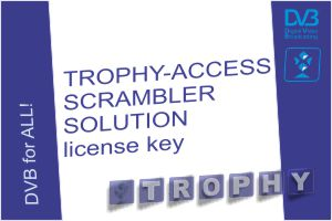 Software license to enable TROPHY-ACCESS scrambler solution