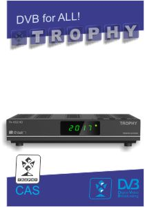 TROPHY TA-1002HD Combo S2/T2/IPTV Set-Top-Box