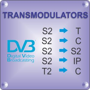 DVB transmodulators